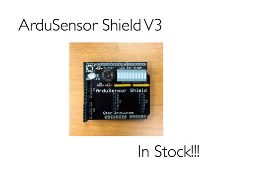 ArduSensor Shield V3